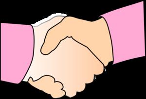 Handshake shaking hands hand shake clip art clipart image 9.