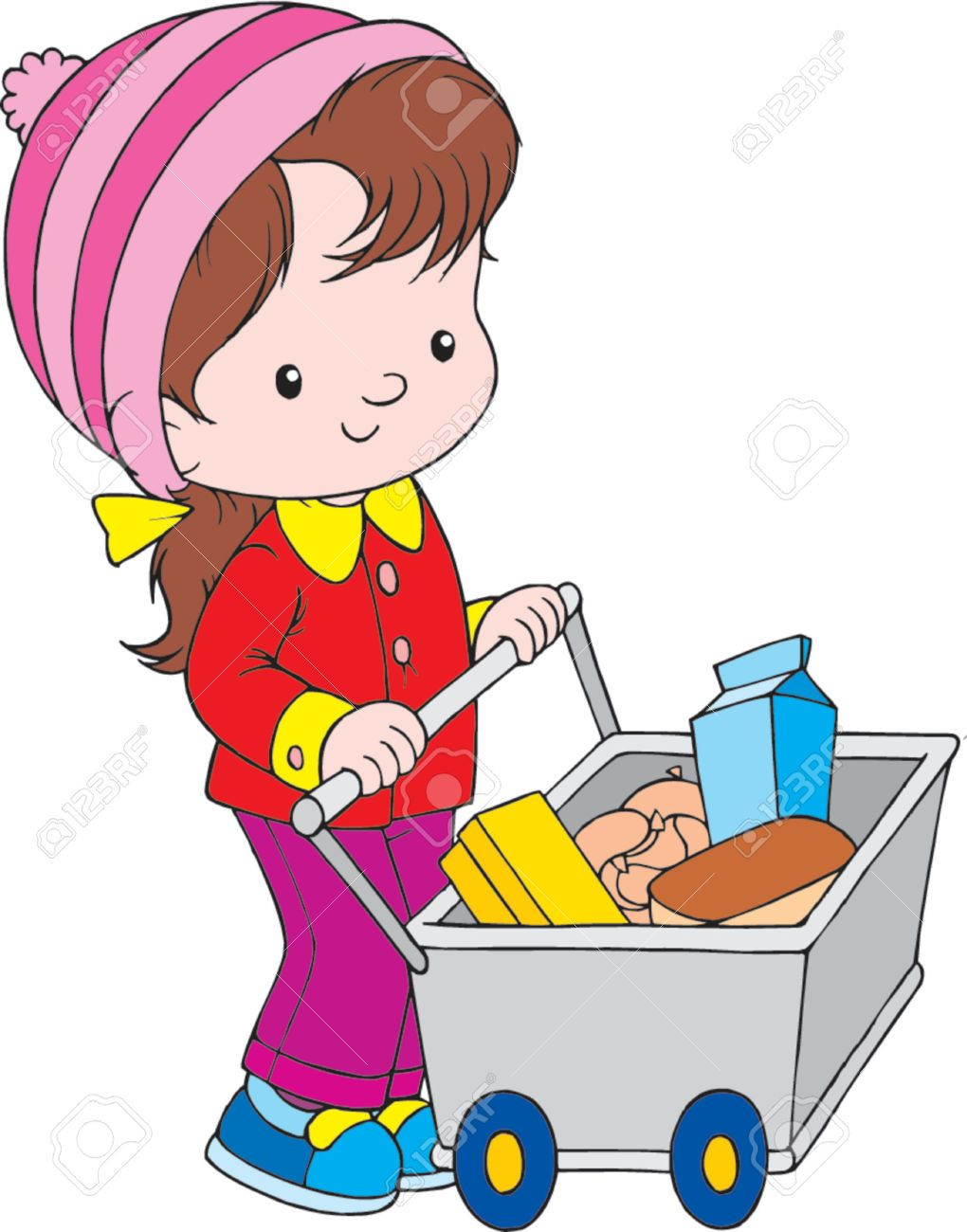 Shopping clipart for kids 3 » Clipart Portal.