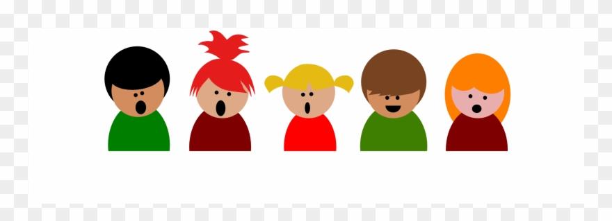 Children Singing.