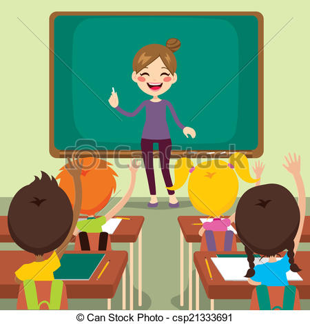 Kids Sitting With Teacher Clipart Clipground