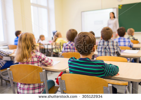 Classroom Stock Images, Royalty.