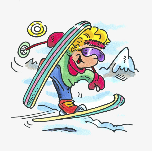 Kids skiing clipart 8 » Clipart Station.