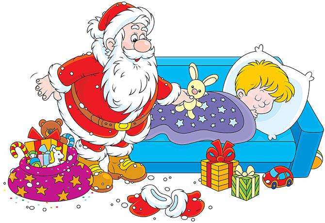 Dr Dina Kulik 6 Tricks to Get the Kids to Sleep Before Santa.