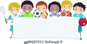 Kids Sports Clip Art.