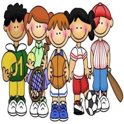 Kids Sports Clipart.