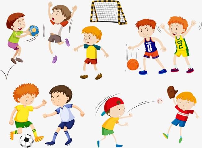 Sports clipart kids 3 » Clipart Portal.
