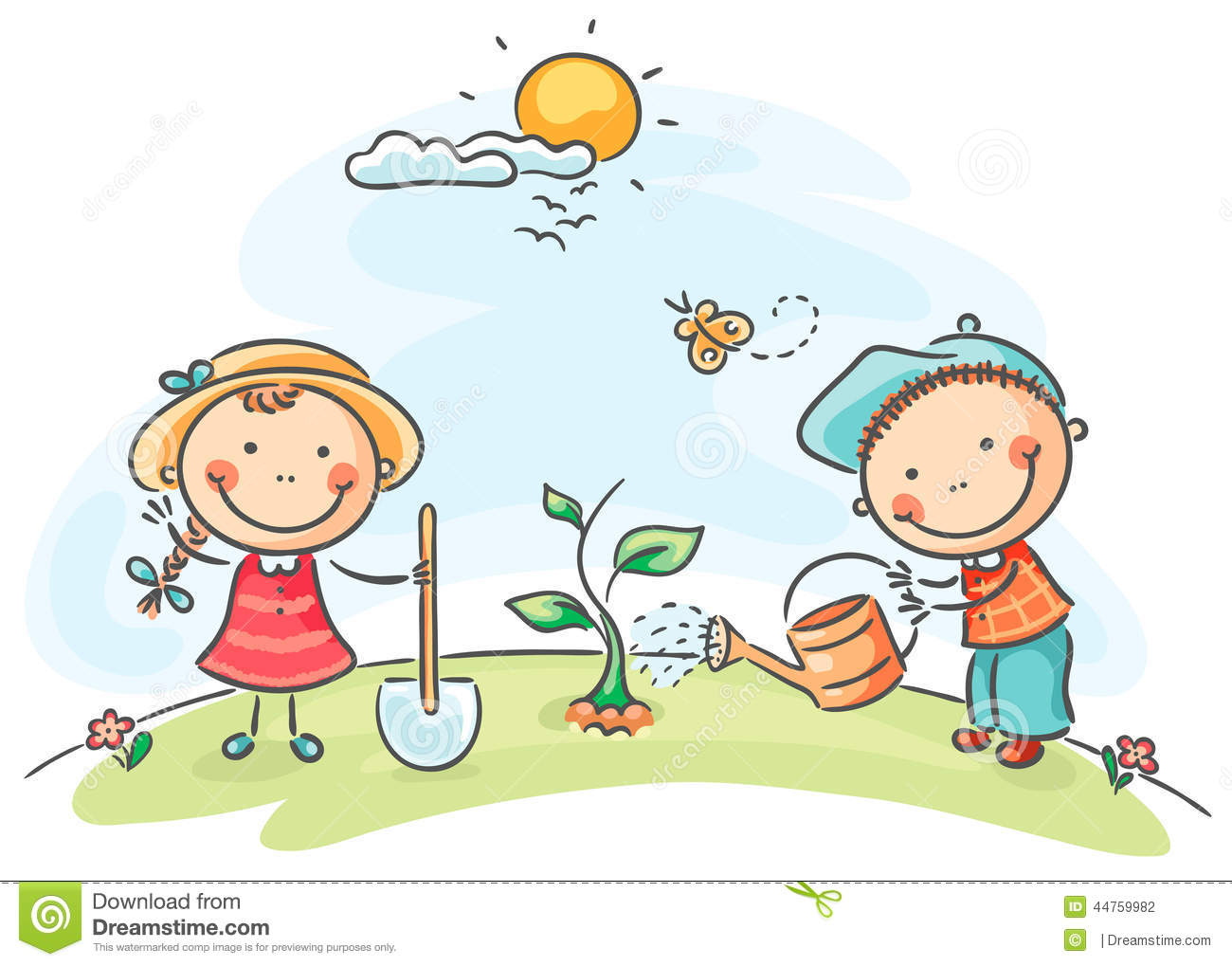 Spring Pictures For Kids Clipart.