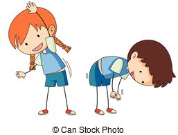 Kids Stretching Clipart (97+ images in Collection) Page 1.
