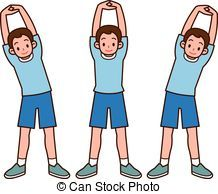 Kids stretching clipart 1 » Clipart Portal.