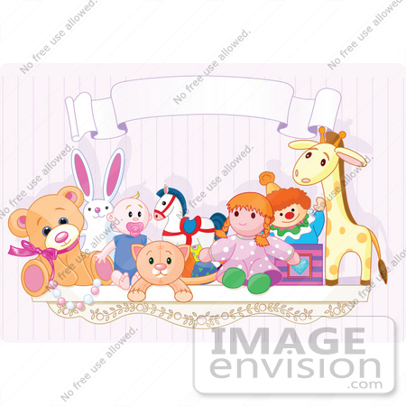 Kids Stuffed Animal Clipart.