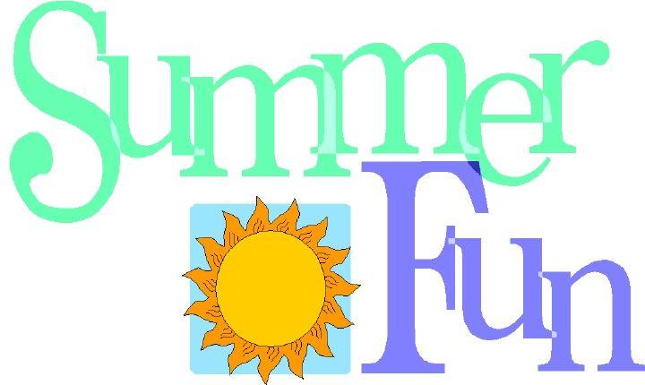 summer clip art for kids.