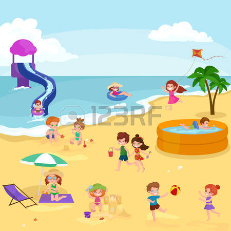 89,190 Beach Nature Stock Vector Illustration And Royalty Free.