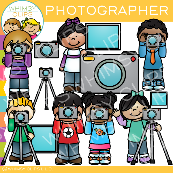 Photographer Clip Art.