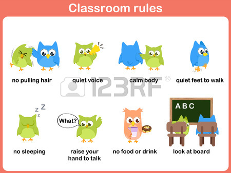 Classroom Rules For Kids Royalty Free Cliparts, Vectors, And Stock.