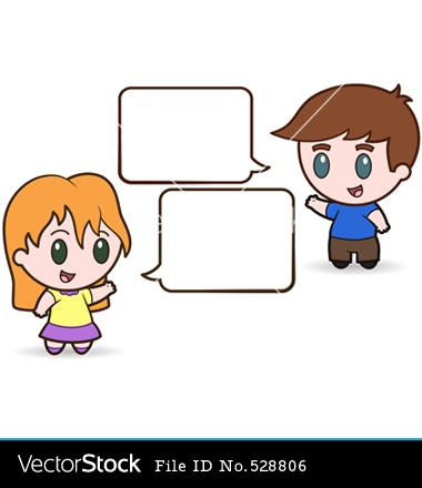 Kids Talking Quietly Clipart Clipground