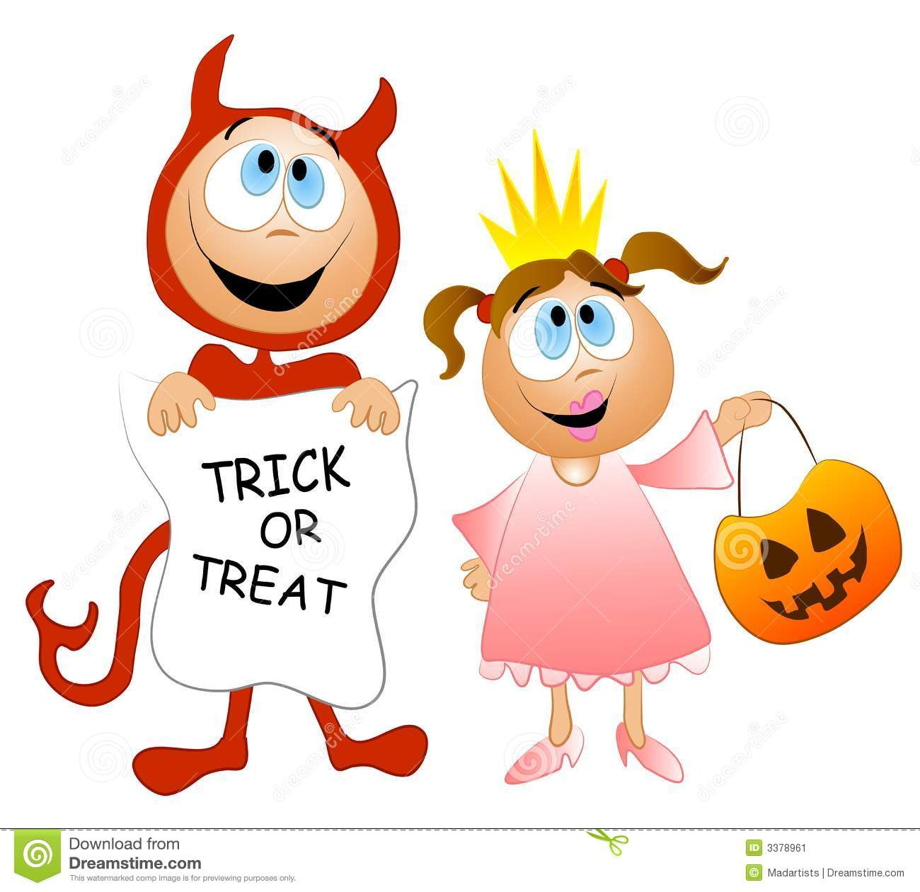 Trick Or Treat Candy Clipart Kids treat clip...