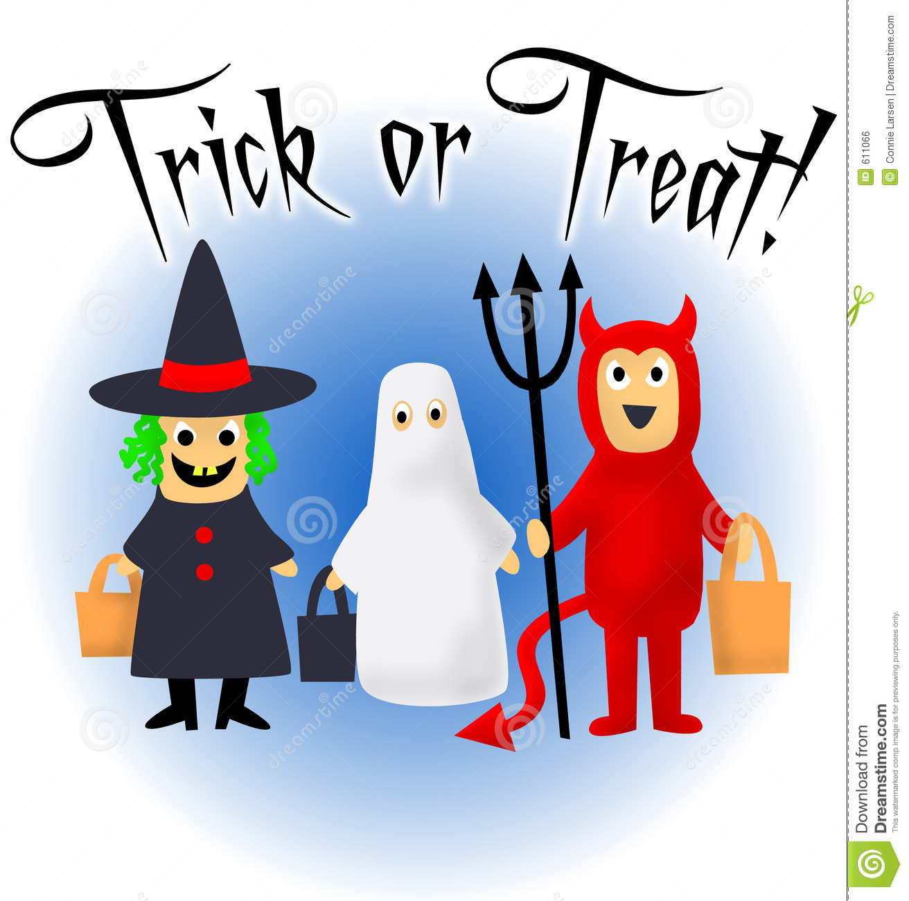 Trick Or Treat Clipart.