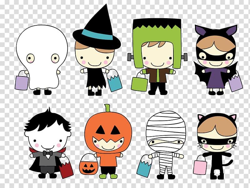 Halloween costume Trick.