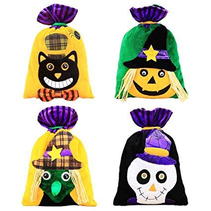 Amazon.com: Halloween Kids Trick Treat Bags,SIX.