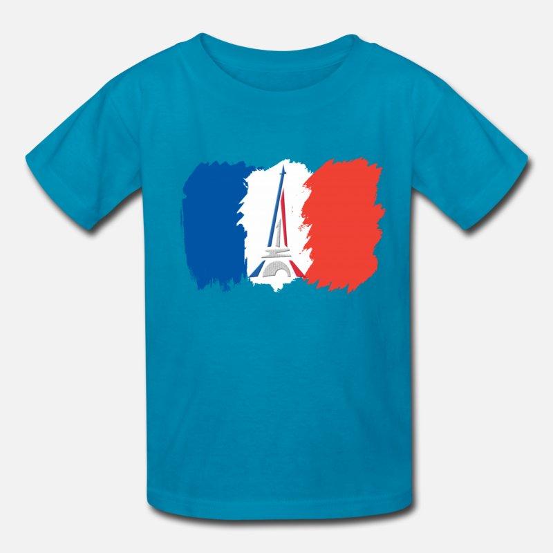 FRANCE FLAG CLIPART Kids\' T.