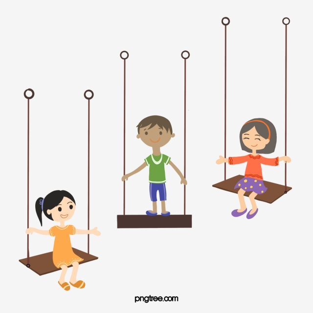 Vector Swing Kids, Kids Clipart, Swing, Boy PNG and Vector for Free.