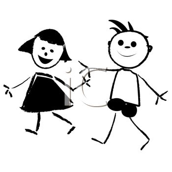 Kids Hand Clipart Black And White.