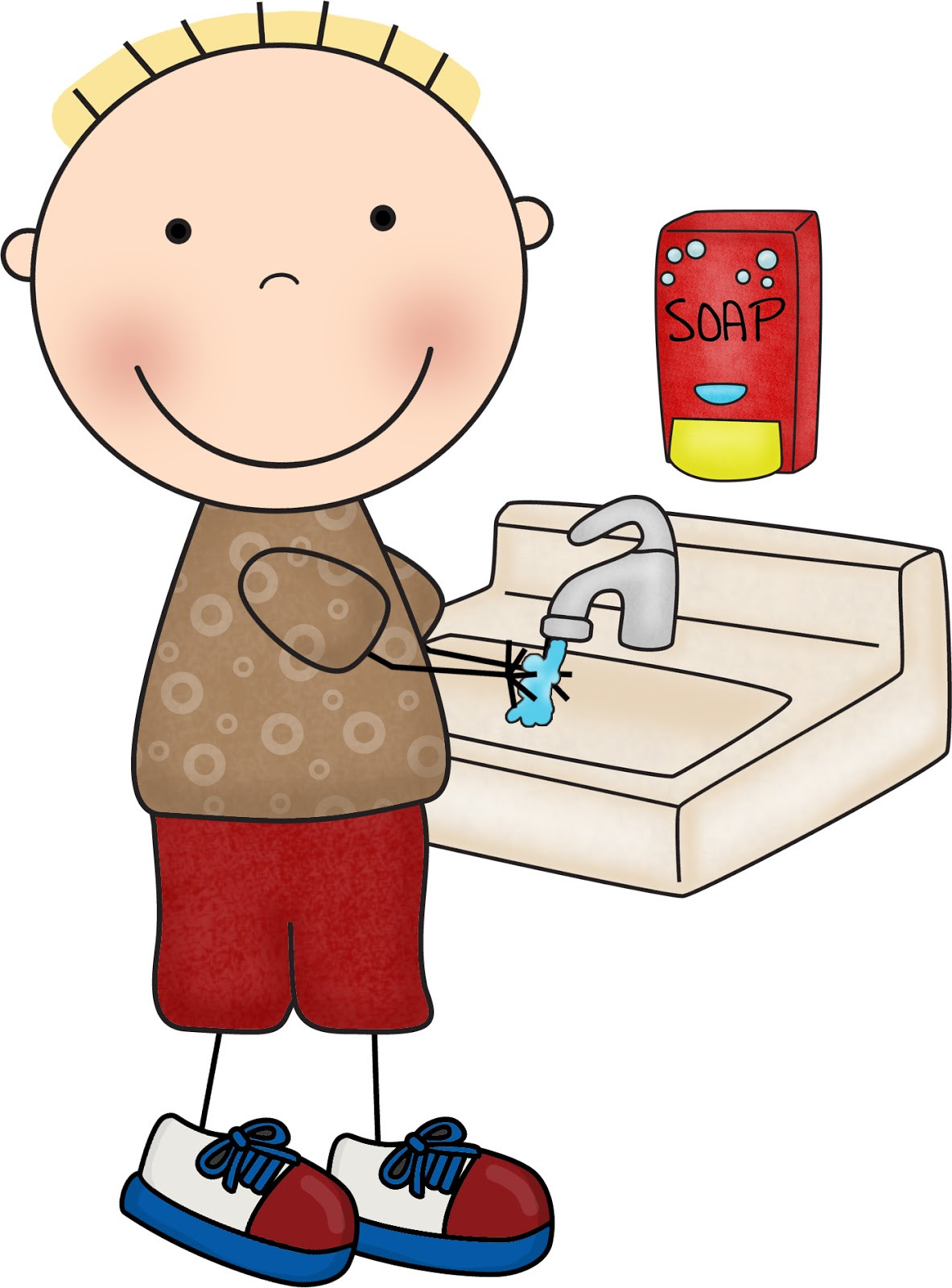 Free Children Washing Hands Pictures, Download Free Clip Art.