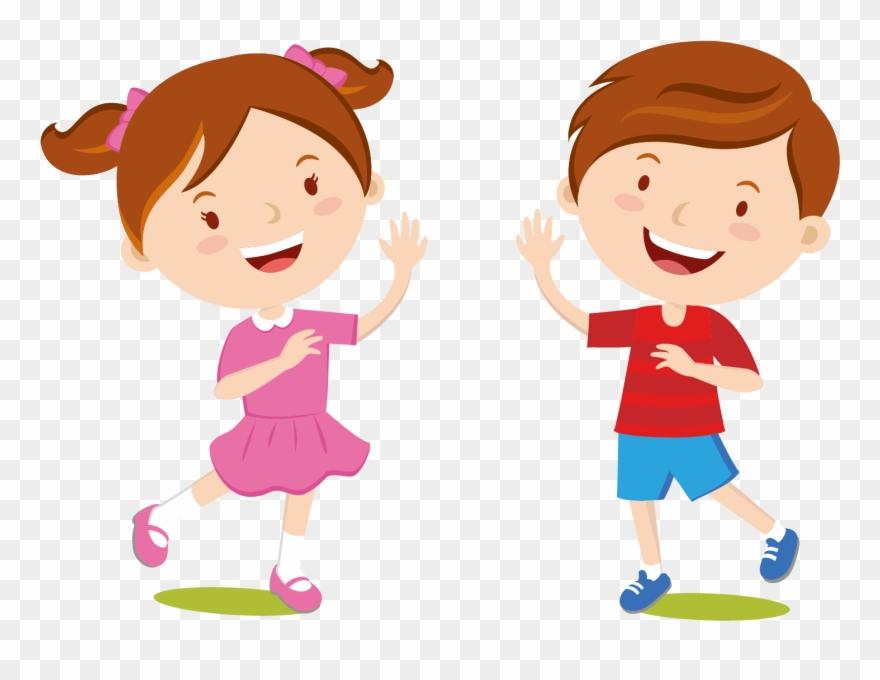 Children S Clothing Dress Cartoon Kids Welcome.