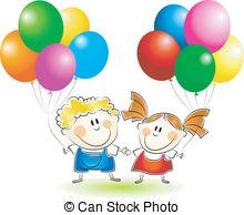 Children balloons Vector Clipart Royalty Free. 24,117 Children.
