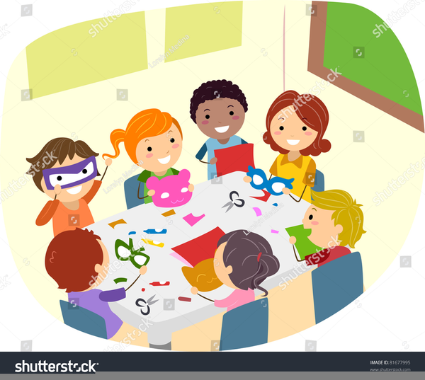 Free Clipart Of Kids And Parents.
