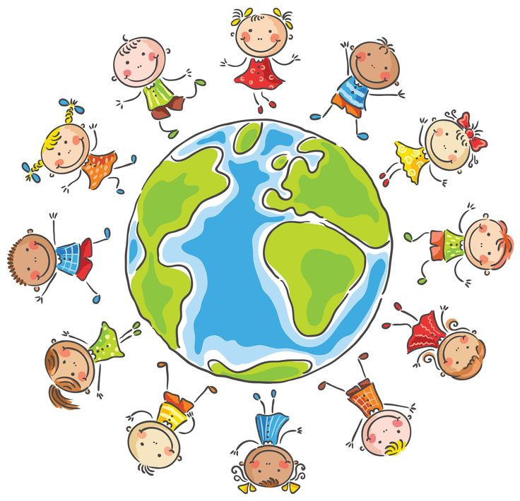 Children Of The World Clipart Group with 20+ items.