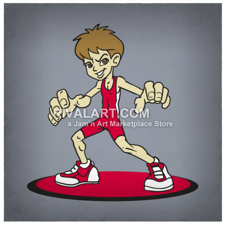Boys Youth Kids Wrestling Wrestlers Color Graphic Wearing.