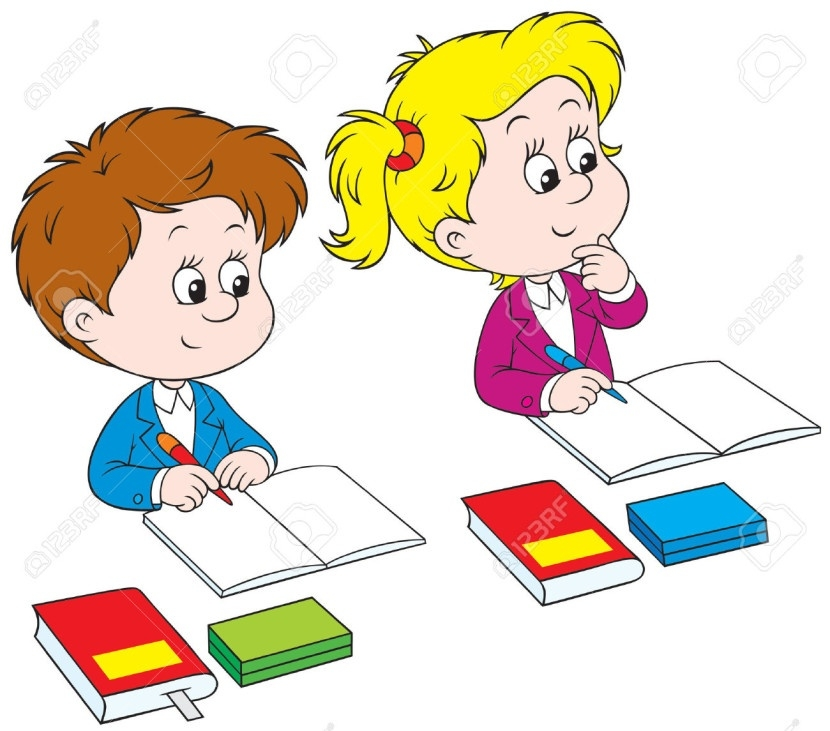 School Children Writing Clipart (44+) for Kids Writing Clipart.