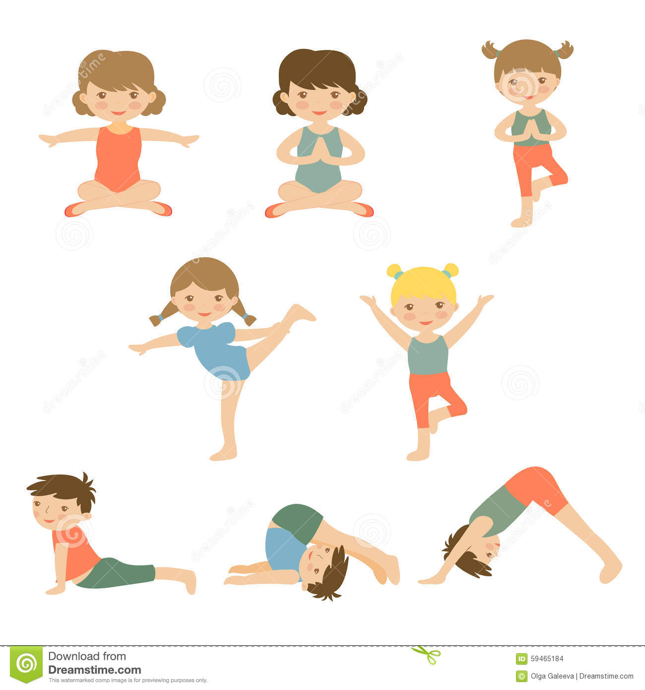 Kids yoga clipart 1 » Clipart Station.