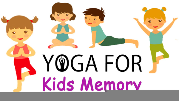 Kid Yoga Clipart.