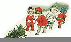 Kids Domain Christmas Clipart.