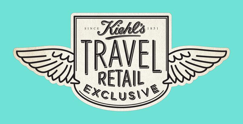 Kiehl\'s Travel Retail Exclusive.