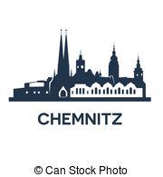 Vector Clip Art of Kiel City Skyline.