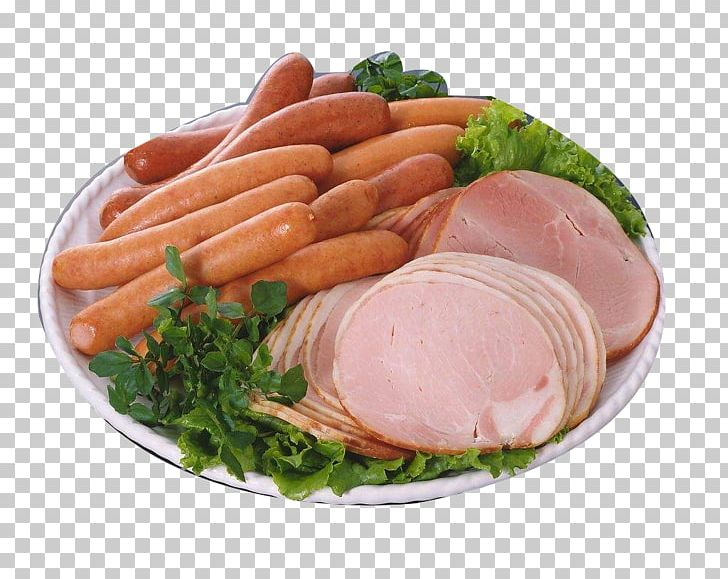 Sausage Lunch Meat Chicken Meat Kielbasa PNG, Clipart.