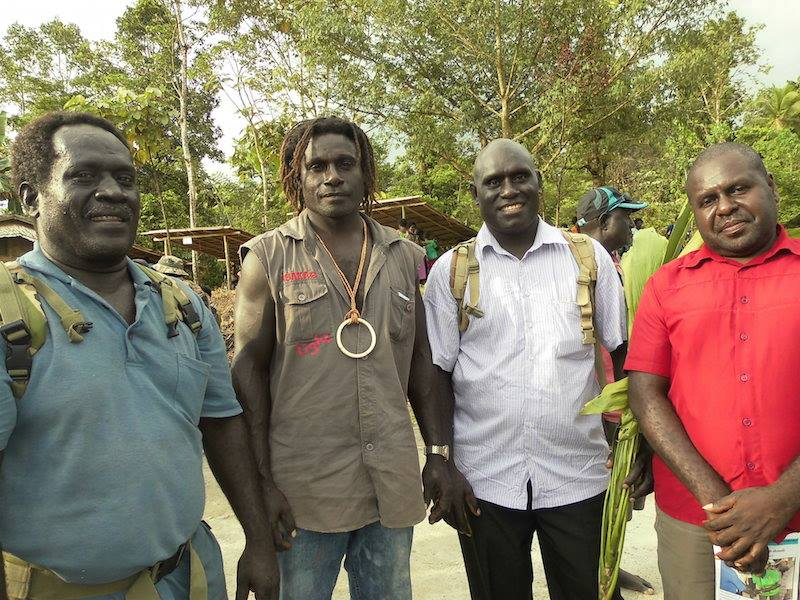 Kieta people apologize to Siwai for suffering during the.