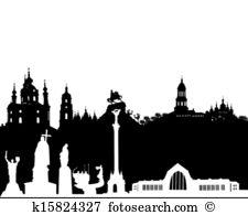 Kiev Clip Art Illustrations. 797 kiev clipart EPS vector drawings.