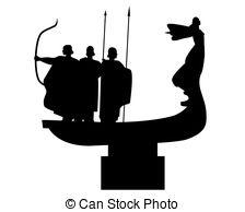 Monument founders kiev Vector Clipart EPS Images. 10 Monument.