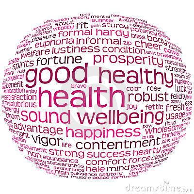Good Health Clipart.
