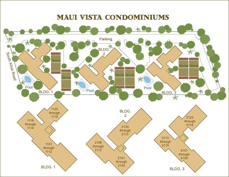Condo of the Day is Maui Vista Condo Kihei.