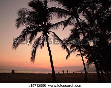 Stock Images of Kihei, Maui, HI, Hawaii, Leeward Coast, Maalaea.