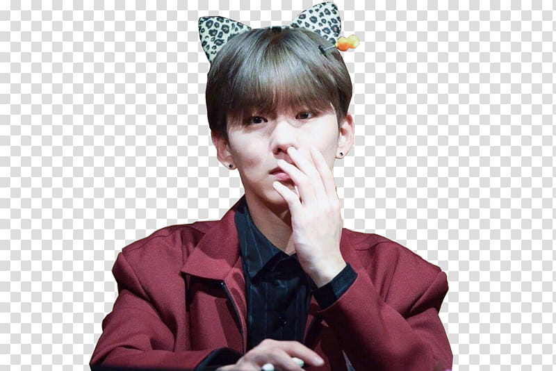 Monsta X Kihyun transparent background PNG clipart.