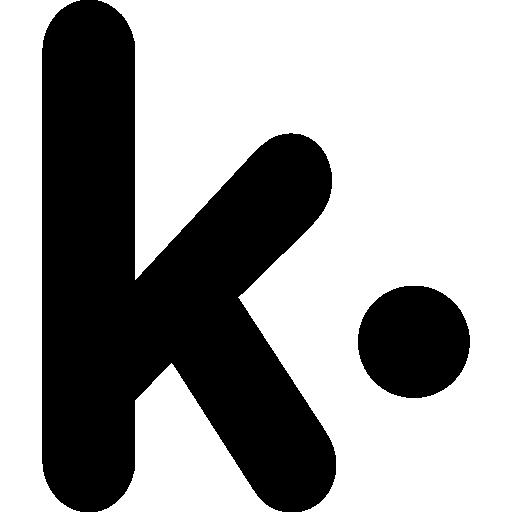 Kik messenger logo.