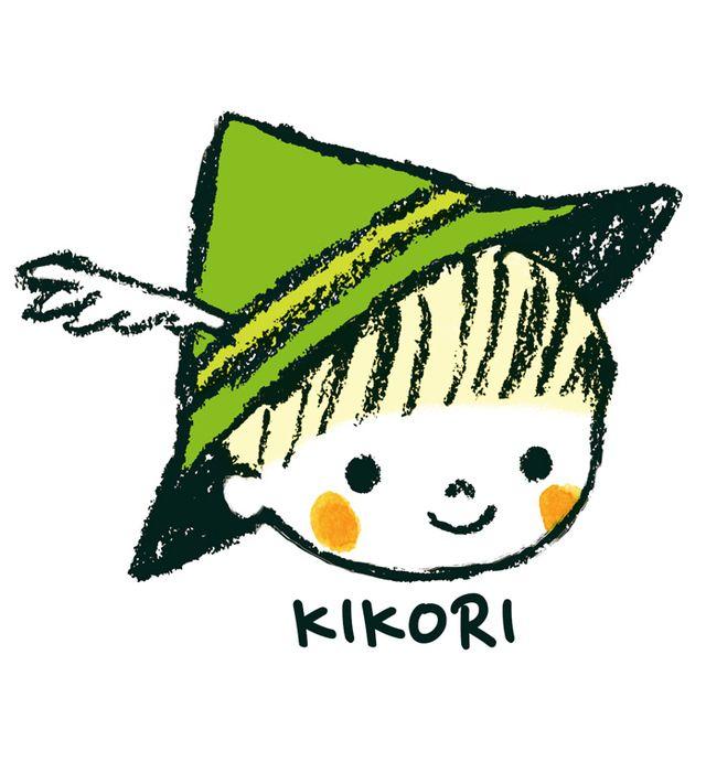 名前が入れられるキッズトートバッグ(木こりの男の子.