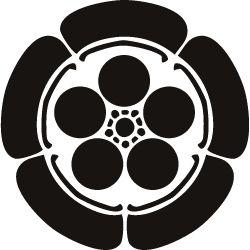 Many different kinds of kikyo flower symbol.