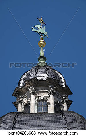 Pictures of Dome, St. Kilian Cathedral, Wurzburg, Lower Franconia.